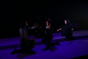 Coriolanus, Volumnia, Virgilia, and Belle (Photo: John Ulman)