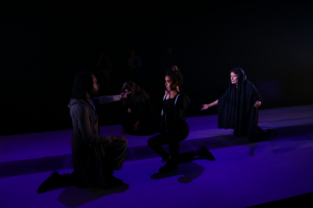 Coriolanus, Volumnia, Virgilia, and Belle (Photo: John Ulman)